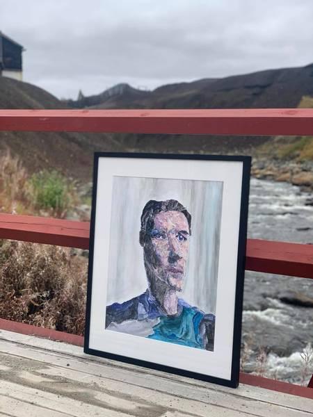 Bilde av Portrett av en ung mann